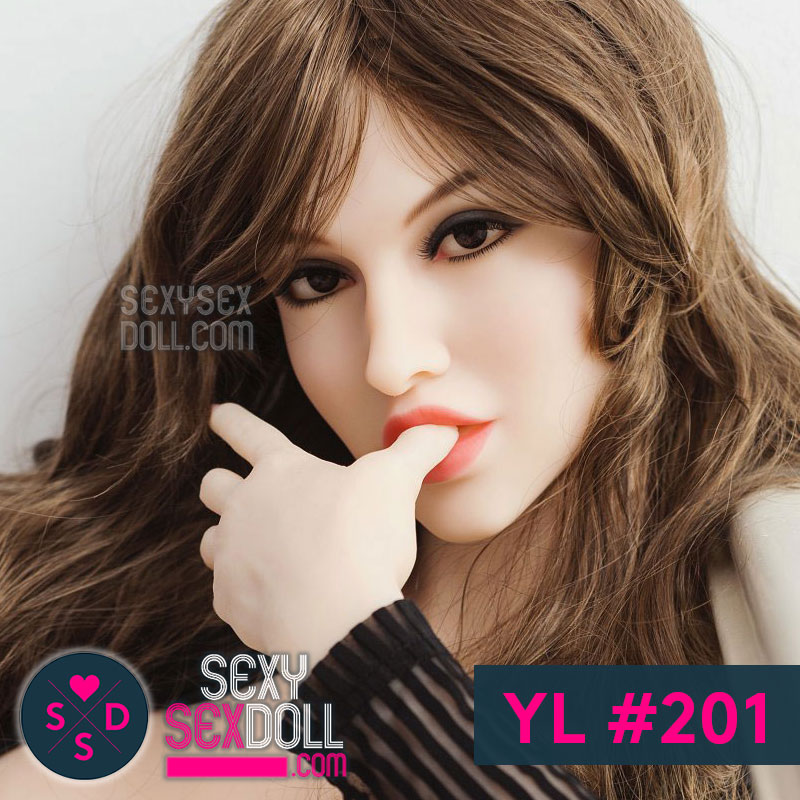 YL Your Love Realistic love doll head #201 Sophia