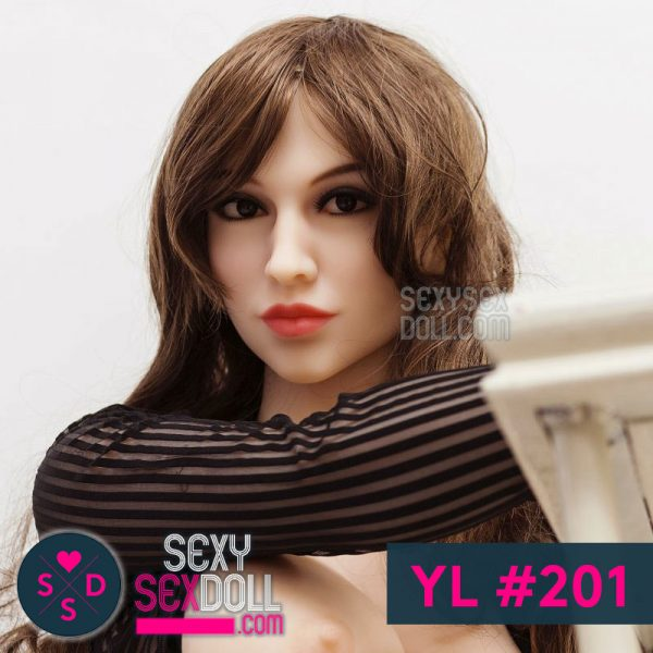 YL Your Love sex doll head #201 Sophia