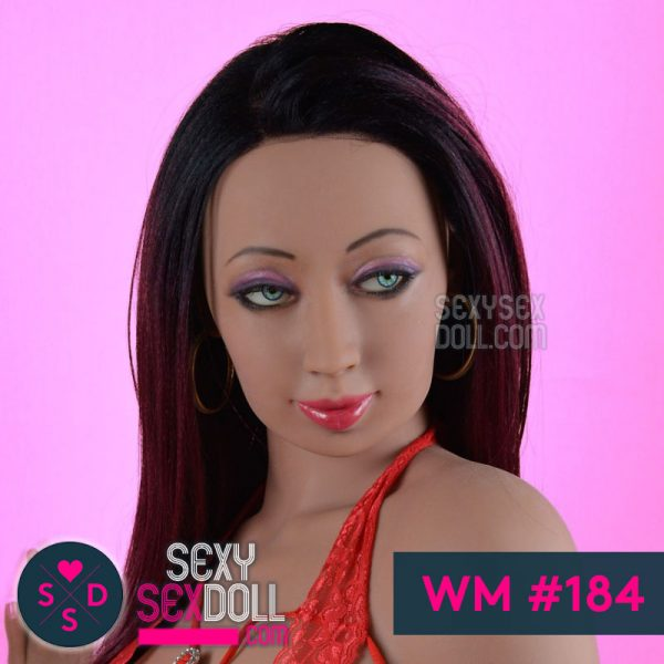 WM sex doll head mature face #184
