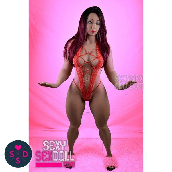 WM beefy legs sex doll 156cm B-cup head 156
