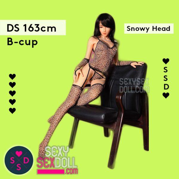 Premium Silicone Sex Doll - Doll Sweet 163cm B-cup Body Snowy