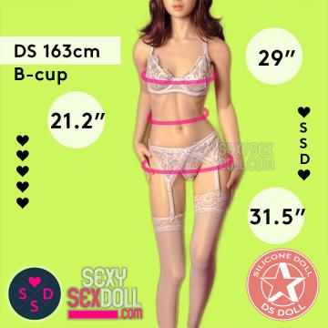 Premium Silicone Sex Doll - Doll Sweet 163cm B-cup Body