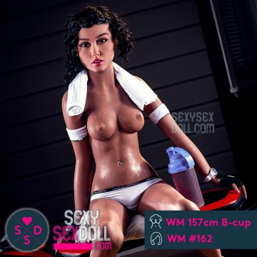 WM Life-size Small Breast Sex Doll 157cm B cup head 162