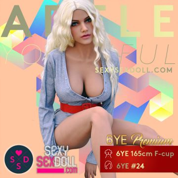 Big Booty Sex Doll - 6Ye Premium 165cm F-cup N24 Adele
