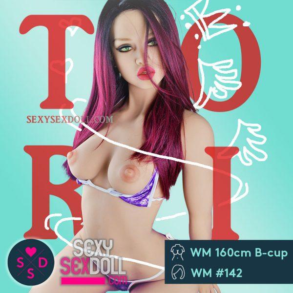 Hyper Realistic sex doll - WM 160cm B-cup Face 142 Tori