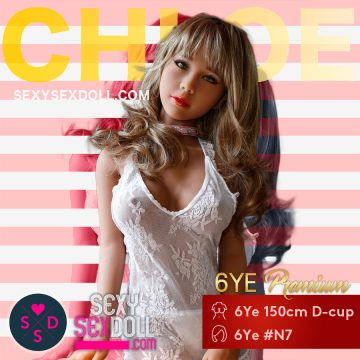 Japanese Pop Star Sex Doll - 6Ye 150cm D-cup N7 Chloe