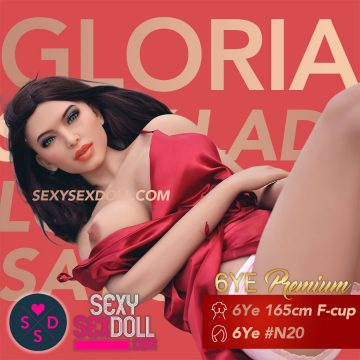 hot real love doll 165cm F-cup sex doll body head N20 Gloria