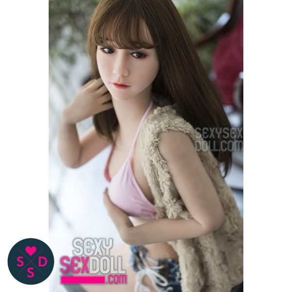 Cute Girl Next Door Sex Doll - WM 145cm C-cup love doll head 85 Miko