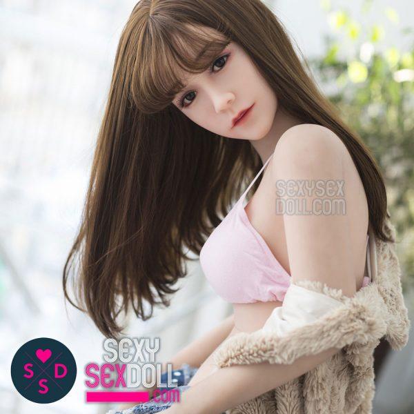 Cute Girl Next Door Sex Doll - WM 145cm C-cup love doll head 85 Miko
