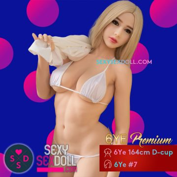 Super Voluptuous High Quality Sex Doll - 6Ye Premium 164cm D-cup Chloe