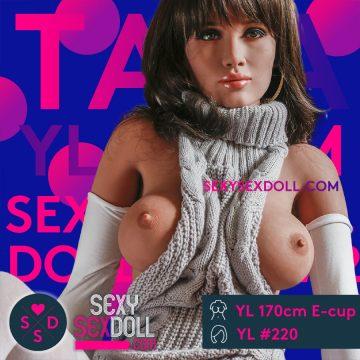 Ultra Realistic Sex Doll Tall Latina YL 170cm E-cup head 220 Tala
