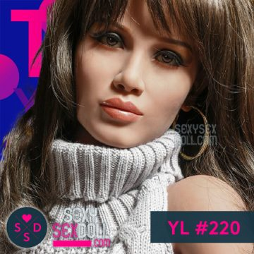 Gorgeous Latina Sex Doll Head YL love doll replacement head 220