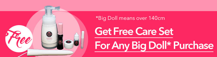 SexySexDoll 2018 promotion Free Sex Doll Care Set for any doll purchase