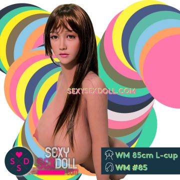High quality sexy bomb WM 85cm L-Cup Super busty Torso sex doll Candy