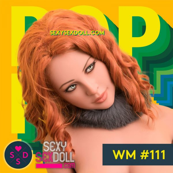 High Quality TPE Life-like Sex Doll Head WM #111 Poppy