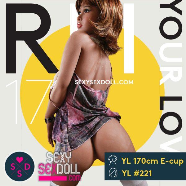 Hyper Realistic Sex Doll YL 160cm E-cup Head 221 Rei