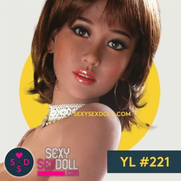 TPE Sex Doll Extra Head YL 221 Rei