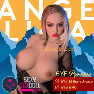 Angelina Jolie Sex Doll 6Ye Premium Love Doll 168cm J-cup Head N40
