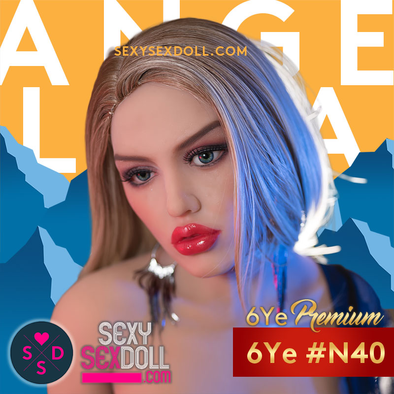 Angelina Jolie Sex Doll Head 6Ye N40