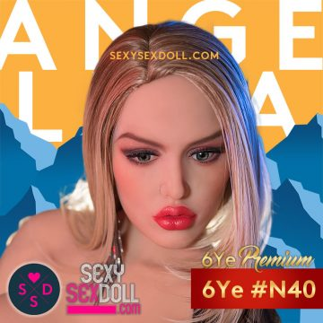 Angelina Jolie Sex Doll Head 6Ye N40