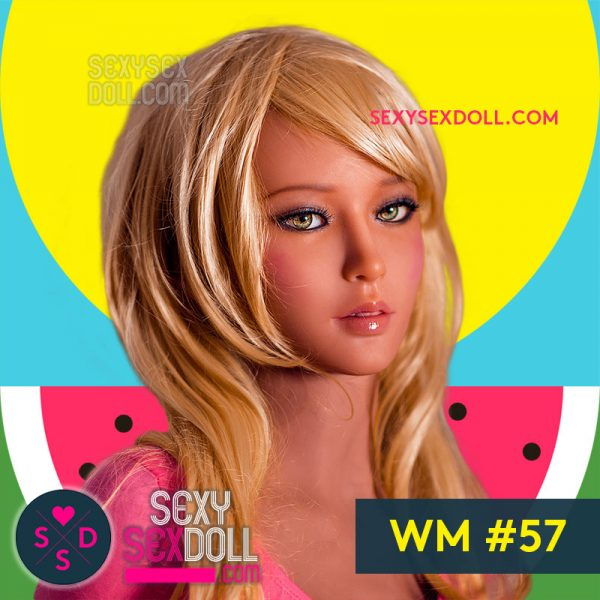 Pretty Hot Girl Sex Doll Head WM #57 Eiza