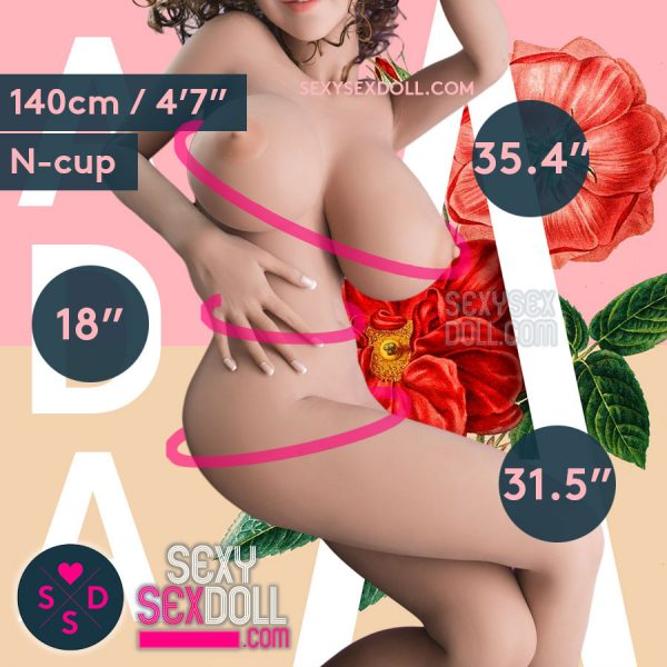 Super Lifelike Adult Doll Small Busty YL 140cm N-cup Sex Doll Body