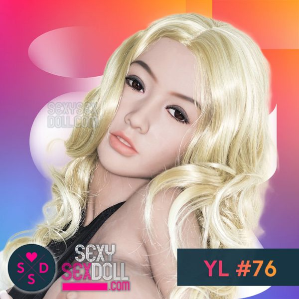 High Quality Japanese Sex Doll Head YL #76 Yukina