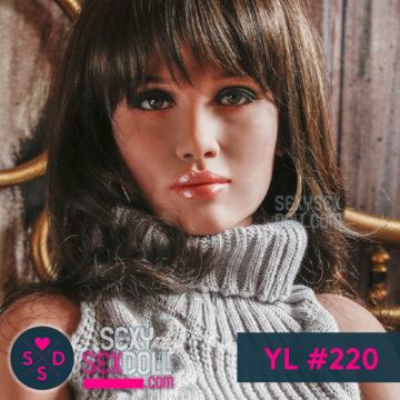 人気AV女優ラブドールのヘッド #220 砂羽