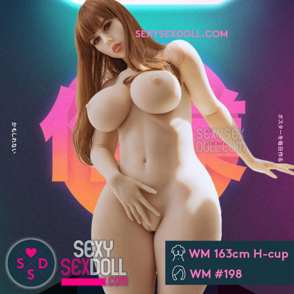 Best Real Love Doll 163cm H-cup Head 198 Nora