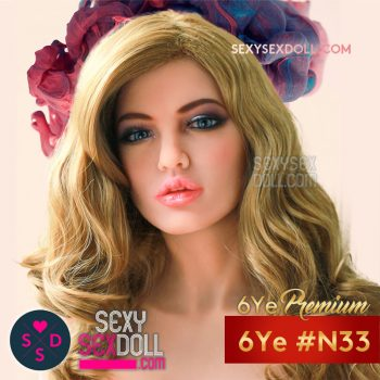 Best Real Doll Head 6Ye N33 Aria