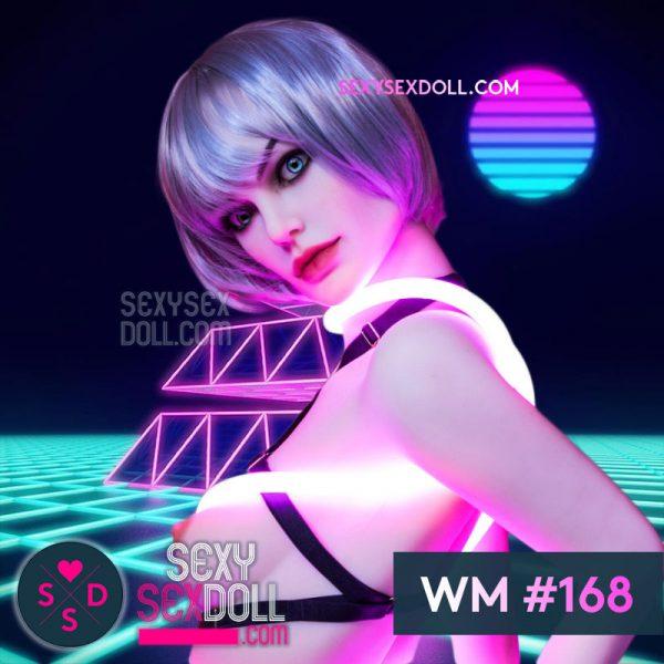 Punk Girl Sex Doll Head WM #168 Acadia