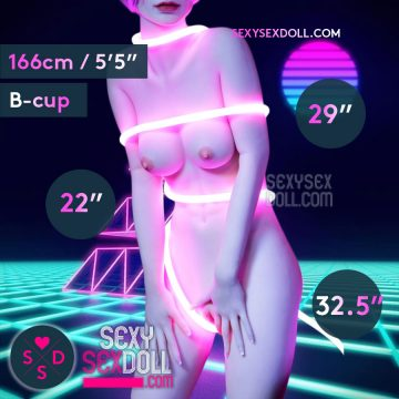Tall Slim Sex Doll Body 166cm B-cup