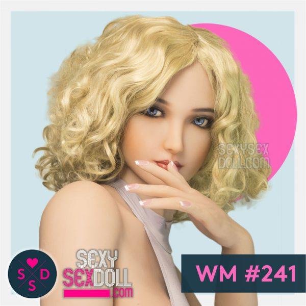 Eastern European Sex Doll Head 241 Aculina