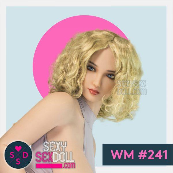Eastern European Sex Doll Head WM# 241 Aculina