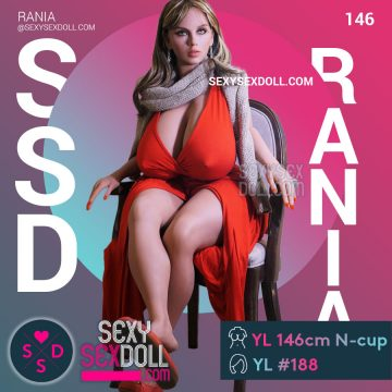 Queen Sex Doll YL 146cm N-cup Head 188 Rania