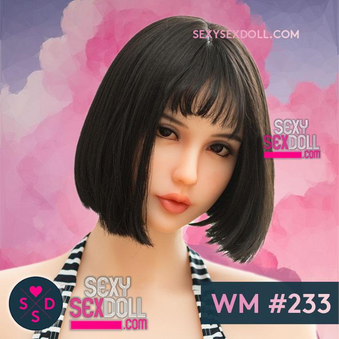 Authentic Japanese Love Doll Head WM# 233 Asuka