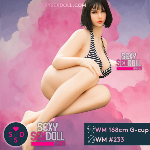 Authentic Thick Sex Doll BBW Fat 168cm G-cup Head 233 Asuka