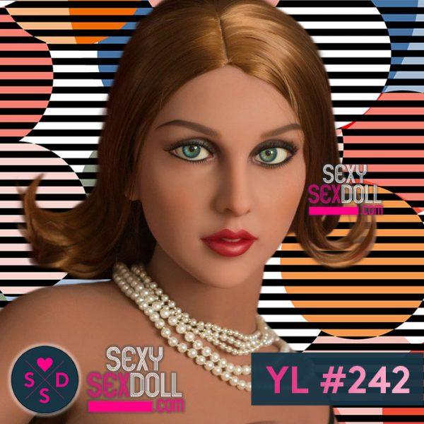 French adult Doll Head YL #242 Alyona