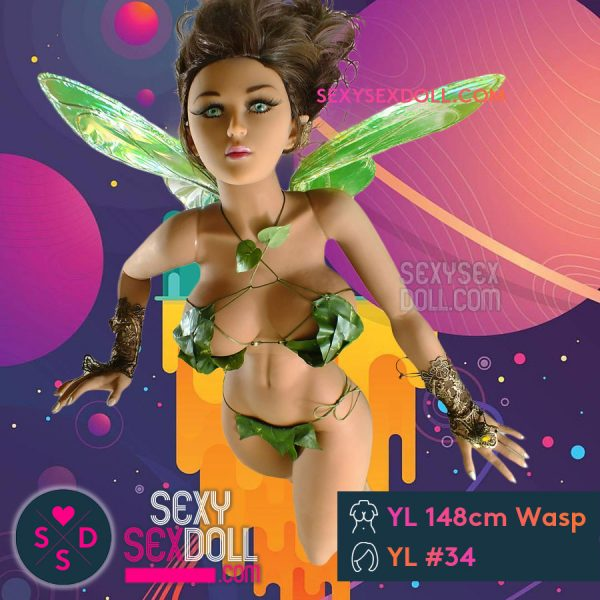 Flying Angel Sex Doll YL 148cm Wasp Waist Head 34 Dina