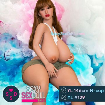 Fat Asshole Thicc Sex Doll YL 146cm N-cup Head 129 Suzie