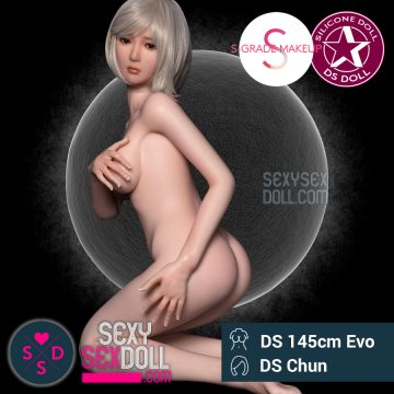 Submissive Japanese Silicone Love Doll DS 145cm Evo Chun