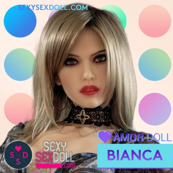 Verified Model Sex Doll Head Amor Doll Bianca