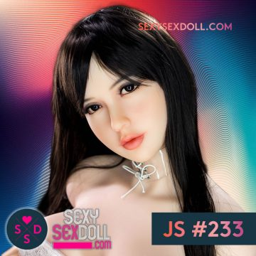 Most Popular Sex Doll Head JS #233 AngelaBaby