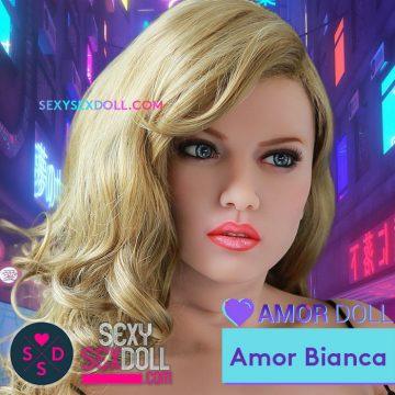 Popular Idol Sex Doll Head Amor Doll Bianca-Bridgette