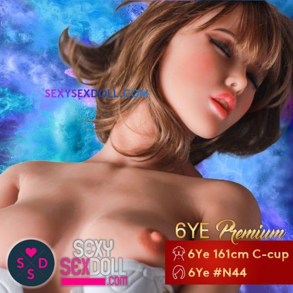 BDSM sex doll 6Ye Premium 161cm 5ft5 C-cup Head N44 Japanese Prostitute Misato