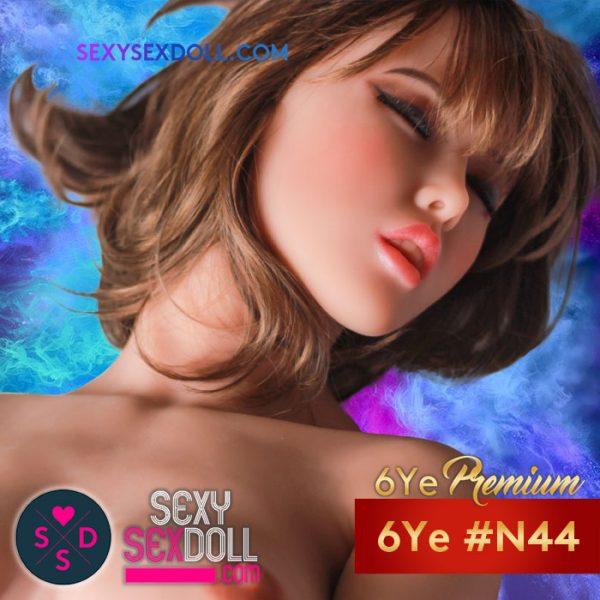 Orgasm Sex Doll Head 6Ye Premium #N44 Misato