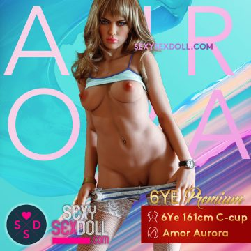 Escort Love Doll 6Ye 161cm C-cup Head Amor Aurora