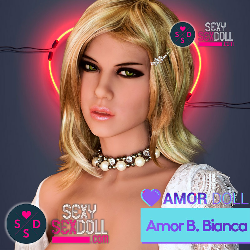 Amor Doll Head B – Bianca