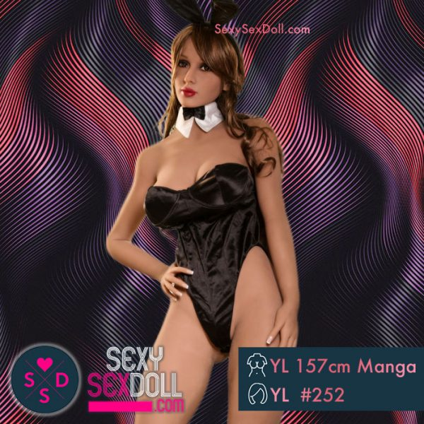 Bunny Girl Sex Doll YL 157cm 5ft2 Manga Head 252 Claire