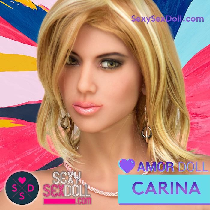 Amor Doll Head C – Carina